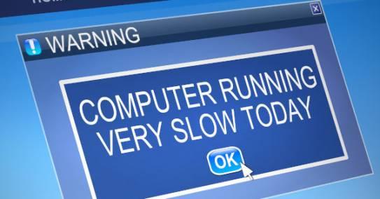 Sülearvuti reageerib igale nupuvajutusele aeglaselt
