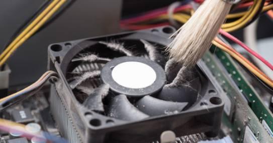 Ventilaator ei tööta ja arvuti on aeglane